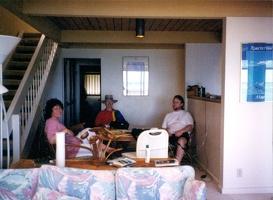 Nessa, Mark, and Scott in Hawaii.