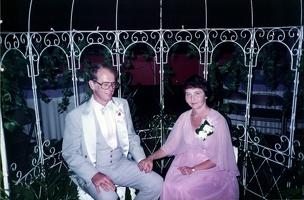 Mark and Jeannette at Scott's wedding.