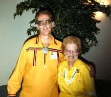 Mark and Edna Mae Vaughn (Scott's Godmother)