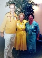 Mark, Edna Mae Vaughn (Scott's Godmother), and Jeannette