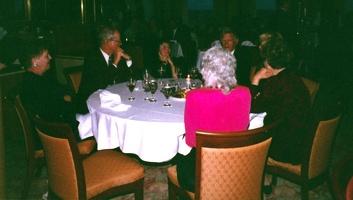 Alaska cruise, Lorene, Mark, Jeannette, Jim, Bev (Jim P absent)