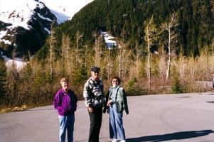 Lorene, Mark, and Jeannette in Alaska