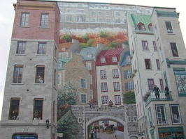 D.Quebec City-Mural 090