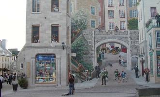 D.Quebec City-Mural 091