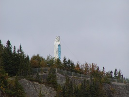 F. Saguenay Fjord-Statue of Virgin Mary 110