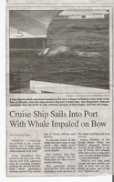 G. St. John Whale, article in Albuquerque Journal