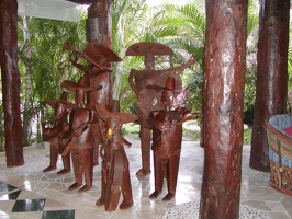 decoration in lobby