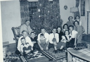 Christmas in late 1940's