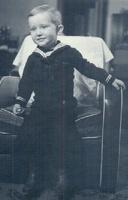 Donald Vidal as a toddler