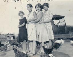 Jean, Pauline, Marie, and Ann Schmaltz