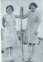 Marie and Ann Schmaltz and rattler