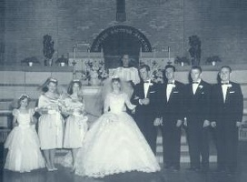 Mark and Jeannette's wedding