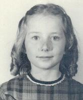 Vanessa in 2nd grade
